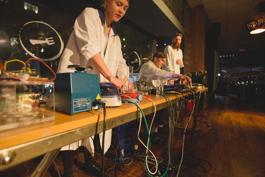 Sound Lab Sculptors. Pic by Michael Haas.