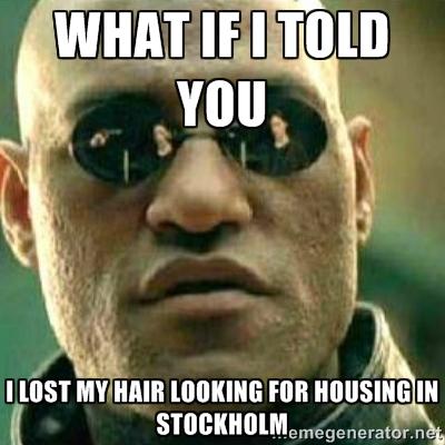 Image result for stockholm housing meme