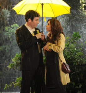 Ted finally meets Tracy, a.k.a. The Mother. Under the yellow umbrella!