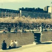 A fantastic day in Kungsträdgården Park