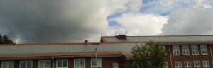 Sun energy roof