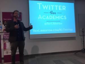 ben libberton Twitter presentation