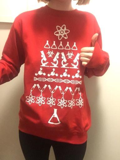 science-christmas-jumper