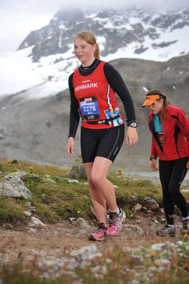 Marathon in the swiss alps.